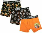 DRAGON BALL Z 3-Pack Underoos Boxer Briefs Underwear NWT Boys Sizes 4 6 8 10 20