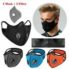 Kyпить Reusable Washable Neoprene Air Ventilation Port Face Mask +PM2.5 1Carbon Filter на еВаy.соm
