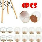4pcs Table Chair Foot Leg Silicone Caps Pad Furniture Feet Cover Floor Protect.
