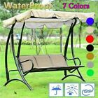 2/3 Seaters Garden Swing Chair Canopy Replacement Spare Seat Cover Waterproof