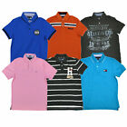 Tommy Hilfiger Mens Polo Shirt Classic Custom Slim Fit Graphic Clearance New Nwt