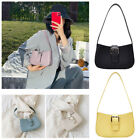 Fashion Pure Color Women Handbag PU Leather Elegant Simple Totes Shoulder Bags