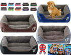 Pet dog bed large soft cushion kennel cushion washable candy-colored square nest