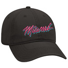 6 Panel Black Cap New Era Miami Heat Vice City, embroidery 3D Puff. on eBay