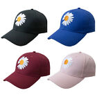 Marguerite Flower Summer Anti UV Outdoor Adjustable Hat Baseball Cap Novelty