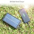 New Portable Solar Charger For 18650 Batteries/Mobile Phones 2W 5V Panel AU