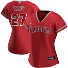 New 2020 MLB Los Angeles Angels Mike Trout Nike Womens Alternate Replica Jersey on Ebay
