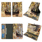Case For 8 inch Universal Tablet Folio 360 Rotating Cover Card Slots Pu Leather