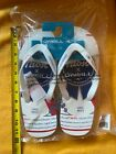 Pabst Blue Ribbon O'neill Brand Flip Flops Pbr New With Tags