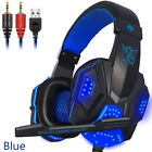 Headset Kopfhörer Stereo für  PC Sony PS4 Xbox Switch Gaming Laptop Notebook DE