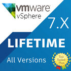 VMware ESXi 7.x vSphere License Key ⭐Unlimited CPUs⭐ LIFETIME ⭐Fast Delivery⭐