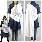 Fairy Tail Zeref Cosplay Costume Halloween Outfit Adult Male Full Set Suit