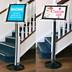 Menu Display Stand - Floor Standing LED Display - Portrait & Landscape A3