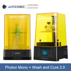 "Anycubic Wash & Cure Box I LCD Photon | Zero SLA 3D Printer 2.8""TFT FEP UV Resin"