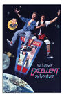 "Laminated Bill And Ted's Excellent Adventure Poster Official Licensed 24x36"" New"