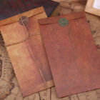 Vintage Kraft Paper Envelopes Decorative Small Paper School Office Supplies Ufeh