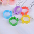 20X Chicken hen pigeon leg poultry bird dove chick duck parrot clip ring band BJ