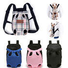 Pet Dog Backpack Carrier Puppy Pouch Cat Travel Tote Front Bag With Legs Out