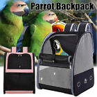 Parrot Backpack Bird Carrier Breathable Travel Cage Carrying Pet Shoulder New