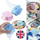Laundry Filter Bag Floating Pet Lint Hair Catcher Washing Machine Mesh Pouch UK
