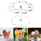DI- 8 Holes Ice Cream Cone Clear Acrylic Holder Wedding Party Display Stand Pret