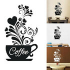 Jw_ Coffee Cup Decal Wall Decoration Removable Home Kitchen Art Mural Sticker