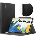 INFILAND Mult-angle Case for Tab S7+/ S7 Plus 12.4 T970/T975/T976 2020 Tablet