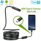 16FT 8LED WiFi Borescope Endoscope Snake Inspection Camera for iPhone Android