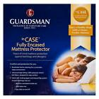 Guardsman Fully Encased Mattress Protector | Bed Bug Dust Mite Protection