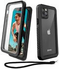Waterproof Case Cover 2M Anti-Knock Scrath Built-in Screen Protector For iPhone