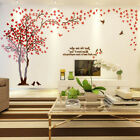 3d Murals Art Diy Love Tree Acrylic Large Wall Stickers Room Decal Home Decor Uk