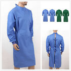 US Medical Surgical Gown Reusable Operating Coat Hospital Scrub Top Work Uniform