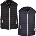 Mens Sleeveless Hooded Gilet Body Warmer Puffer Quilted Padded Jacket Outdoor