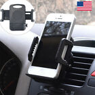 "Car Air Vent Holder Mount Bracket Clip Stand For Apple iPhone Samsung 4~6"" Phone"