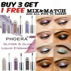 PHOERA Magnificent Metals Eyeshadow Glitter Liquid metallic Shimmer Eye Shadow