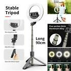 "5"" LED Ring Light Dimmable Tripod Stand Phone Holder for Youtube Selfie Video"