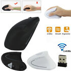 Wireless Mouse 2.4ghz Game Ergonomic Design Vertical Mouse 1600dpi Usb Mice X