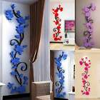 3d Flower Wall Sticker Removable Diy Vinyl Quote Decal Art Home Room Decor Mural