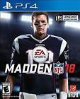 Madden NFL 18 (Sony PlayStation 4, 2017)  EA Sports PS4 football game