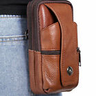 Mens PU Leather Phone Purse Wallet Card Fanny Pack Waist Bag Pouch Belt Clip