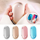 Rechargeable Hand Warmer USB Heater Power Bank Electric Pocket Mini Gift 5200mAh