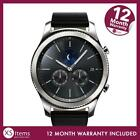 Samsung Gear S3 Classic SM-R770 Smartwatch Bluetooth Silver Black Leather Strap <br/> 15% off with code PRESENTS15. Min spend £15 Max £60 off