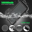 500000mAh Power Bank Universal Dual USB Type C Input Fast Charge Battery Charger
