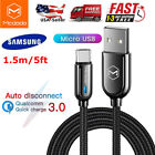 Micro USB Cable Android Charger Nylon Braided Cord For Samsung LG HTC Motorola