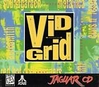 Vid Grid (Atari Jaguar CD) COMPLETE With Manual