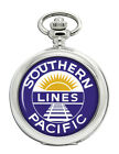 Southern Pacific Railroad Design Pocket Watch
