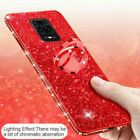 For Xiaomi Redmi Note 9 8 Pro 8T 8A Mi 10 A3 Glitter Paper Ring Soft Case Cover