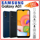 (unlocked) Samsung Galaxy A01 Black Blue 2gb+16gb Dual Sim Android Mobile Phone