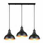 Pendant Lights Modern Vintage Industrial Retro 3 Head Iron Ceiling Lamp Shade...