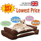 Orthopedic Dog Pet Bed Lounger Deluxe Soft  Washable Waterproof -Large X-Large